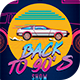 Back to the 90's show Flyer Template - GraphicRiver Item for Sale