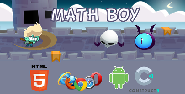Math Boy - HTML5  Educational Game - CodeCanyon Item for Sale