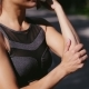 Woman Massaging His Arm and Elbow - VideoHive Item for Sale