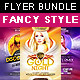 Fancy Style Flyer Bundle - GraphicRiver Item for Sale