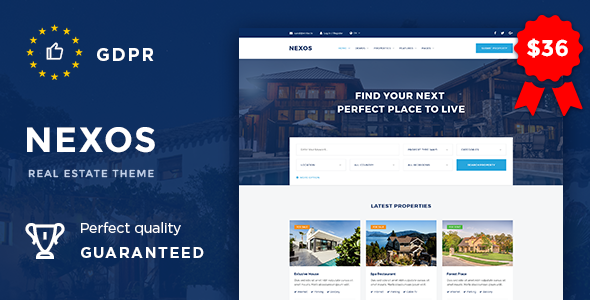 Nexos - Real Estate Agency Directory - Real Estate WordPress