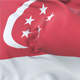 Flag of Singapore Waving - VideoHive Item for Sale