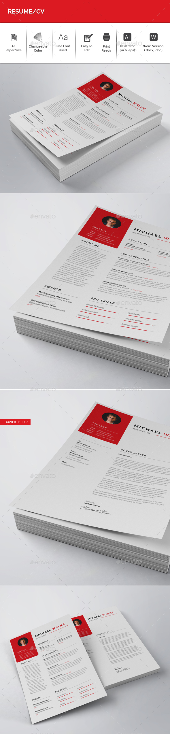 Resume/CV - Resumes Stationery
