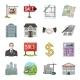Realtor Agency Cartoon Icons - GraphicRiver Item for Sale