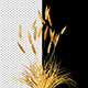 Decorative Golden Bush - VideoHive Item for Sale