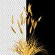 Decorative Golden Bush - VideoHive Item for Sale