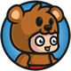 Kid Mascot Bear Game Characters - GraphicRiver Item for Sale
