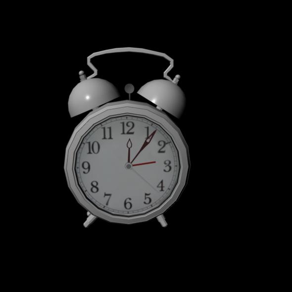 Alarm Clock Rig - 3DOcean Item for Sale