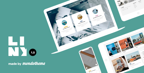 Linx - WordPress Blog & Magazine Theme - Personal Blog / Magazine