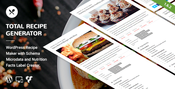 Total recipe generator wordpress recipe maker with schema and total recipe generator wordpress recipe maker with schema and nutrition facts codecanyon item for forumfinder Images