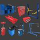 Autoservice Props Pack Vol 1 - 3DOcean Item for Sale