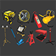 Autoservice Props Pack Vol 2 - 3DOcean Item for Sale