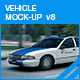 Vehicle Mock-up v8 - GraphicRiver Item for Sale