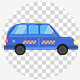 Cartoon Cab Taxi 4K - VideoHive Item for Sale