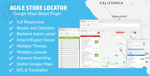 Store Locator (Google Maps) For WordPress - CodeCanyon Item for Sale