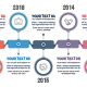 Horizontal Timeline Infographics - GraphicRiver Item for Sale