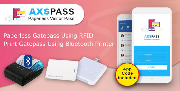 AXSPASS - GatePass Android App            Nulled