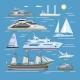 Ship and Boat Vectors