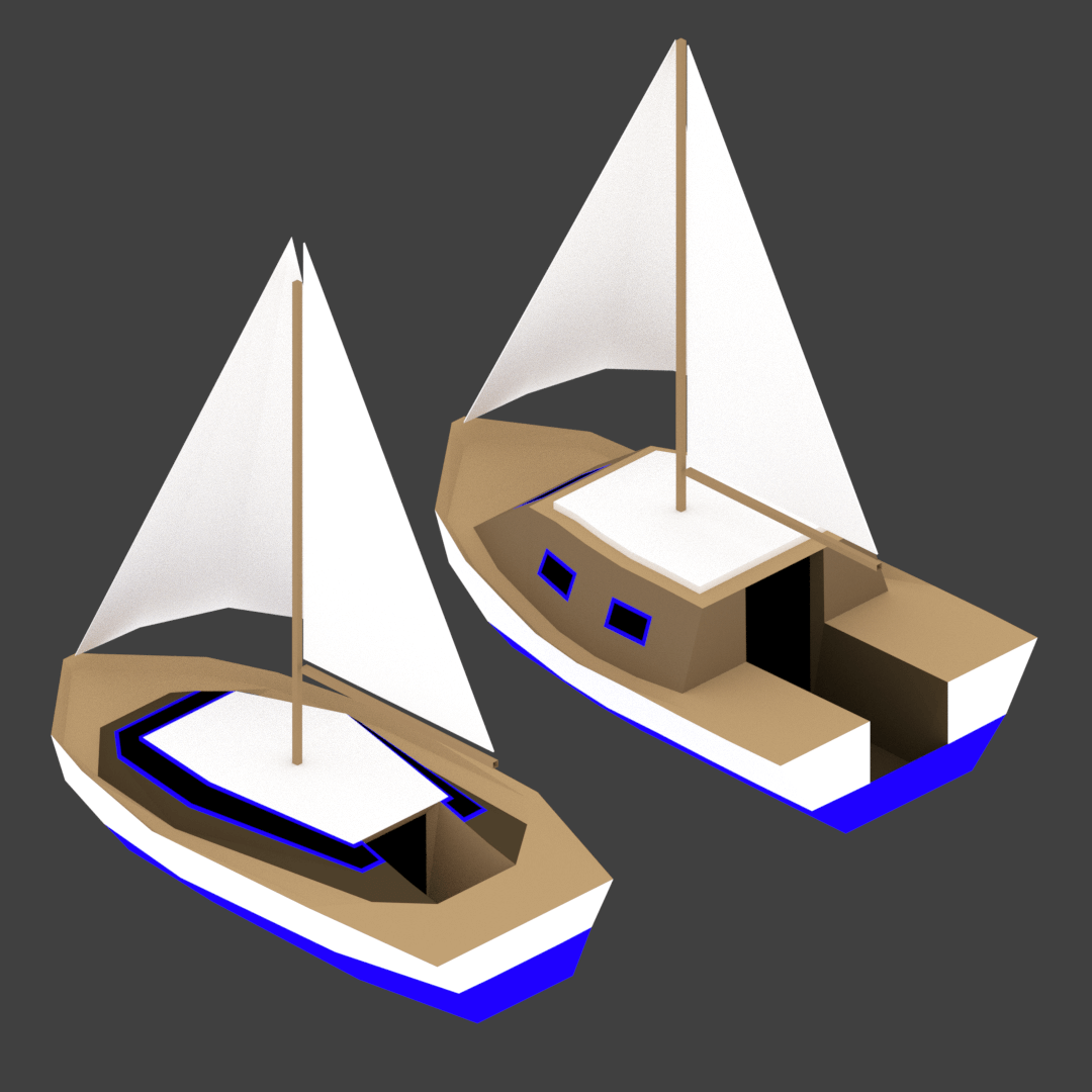 Medium Size Sailing Boats