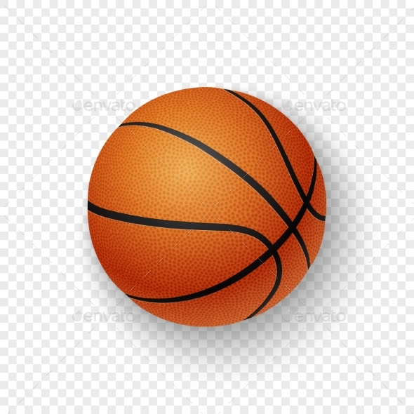 Vector Realistic Classic Basketball - Sports/Activity Conceptual