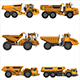 powerful articulated dump truck - GraphicRiver Item for Sale