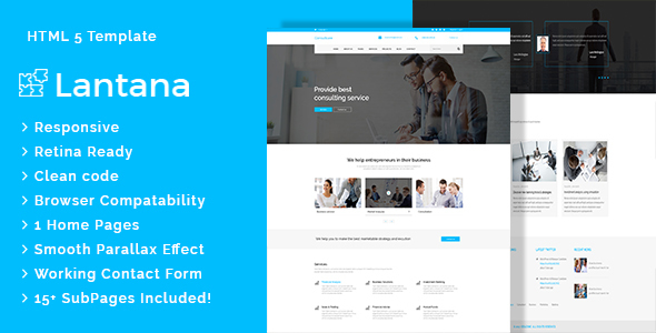 Lantana - Business Consulting and Professional Services HTML Template