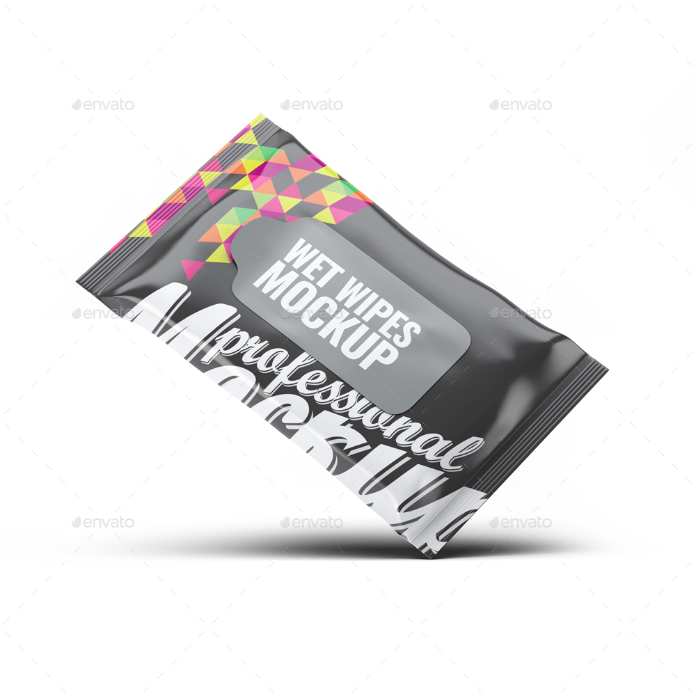 Wet Wipes Mock Up By L5design Graphicriver