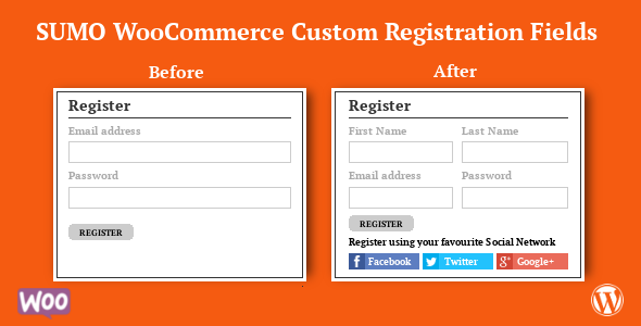 SUMO WooCommerce Custom Registration Fields            Nulled