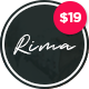 Rima - Personal Blog WordPress Theme - ThemeForest Item for Sale
