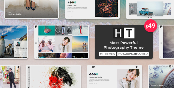 Image of The Halftoon | Multipurpose Photography WordPress Theme