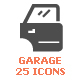 25 Garage & Auto Part Filled Icon