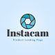 Instacam - Single Product Landing HTML Template