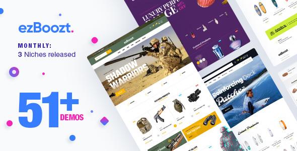 ezBoozt – All-in-one WooCommerce WordPress Theme - WooCommerce eCommerce