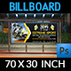 Extreme Sport Billboard Template - GraphicRiver Item for Sale