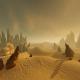 Futuristic Landscape and Fog - VideoHive Item for Sale