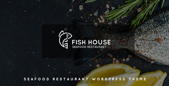 Fish House | A Stylish Seafood Restaurant / Cafe / Bar WordPress Theme