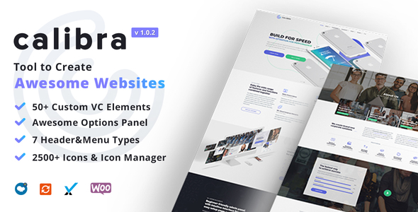 Image of Calibra - Responsive Multi-Purpose WordPress Theme