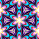Neon Kaleidoscope Background Looped Pack - 19