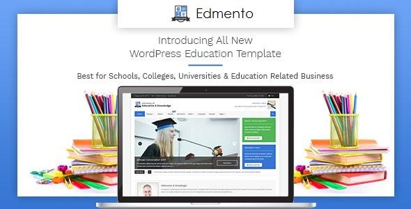 Edmento - Education WordPress Theme - Education WordPress