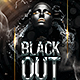 Black Out Flyer - GraphicRiver Item for Sale