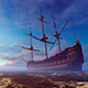 Big Ship In The Sea - VideoHive Item for Sale