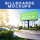 Billboards Mock ups Vol.3 - GraphicRiver Item for Sale