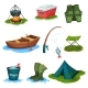 Fishing Sport Symbols Set - GraphicRiver Item for Sale