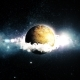 Futuristic Planet in Space - VideoHive Item for Sale