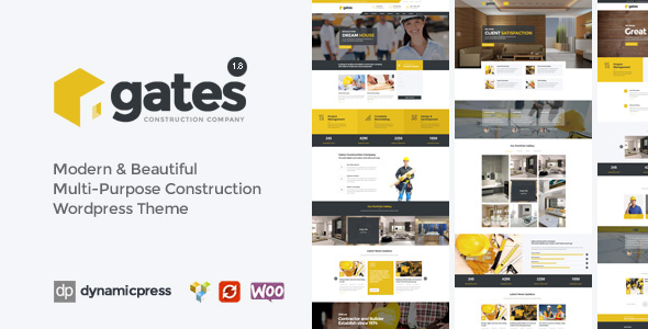 Gates - Construction, Building Business WP - Business Corporate