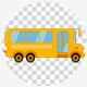 Cartoon School Bus 4K - VideoHive Item for Sale
