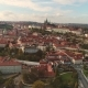 Panoramic View From Above on the Prague Castle - VideoHive Item for Sale