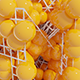 Wireframe Spheres Background