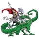 Saint George Slaying the Dragon - GraphicRiver Item for Sale