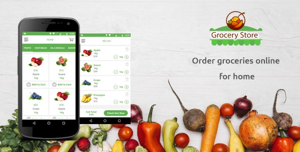 Grocery Store Android App - CodeCanyon Item for Sale
